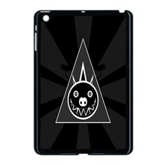 Abstract Pigs Triangle Apple Ipad Mini Case (black) by Simbadda