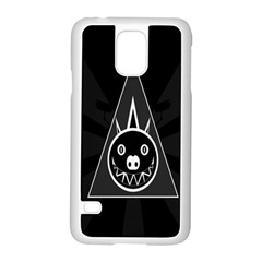 Abstract Pigs Triangle Samsung Galaxy S5 Case (white) by Simbadda