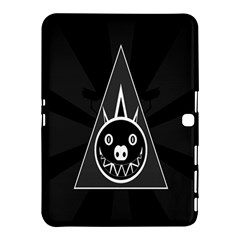 Abstract Pigs Triangle Samsung Galaxy Tab 4 (10 1 ) Hardshell Case  by Simbadda