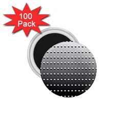 Gradient Oval Pattern 1 75  Magnets (100 Pack)