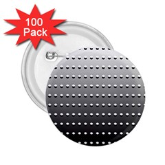 Gradient Oval Pattern 2 25  Buttons (100 Pack)