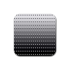 Gradient Oval Pattern Rubber Coaster (square)