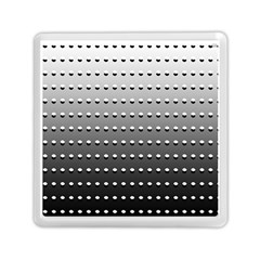 Gradient Oval Pattern Memory Card Reader (square)  by Simbadda