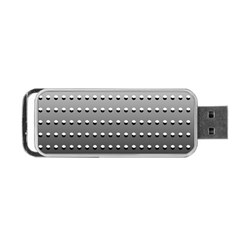 Gradient Oval Pattern Portable Usb Flash (one Side)