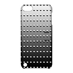 Gradient Oval Pattern Apple Ipod Touch 5 Hardshell Case With Stand by Simbadda