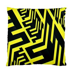 Pattern Abstract Standard Cushion Case (two Sides) by Simbadda