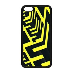 Pattern Abstract Apple Iphone 5c Seamless Case (black)