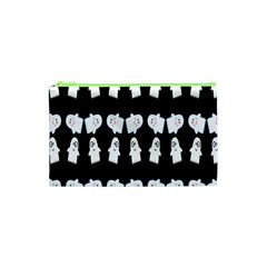 Cute Ghost Pattern Cosmetic Bag (xs)