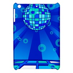Disco Ball Retina Blue Circle Light Apple Ipad Mini Hardshell Case by Alisyart