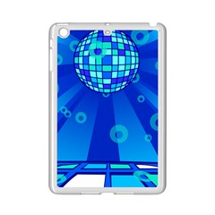 Disco Ball Retina Blue Circle Light Ipad Mini 2 Enamel Coated Cases