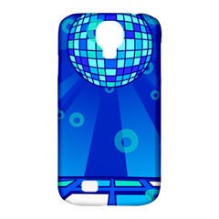 Disco Ball Retina Blue Circle Light Samsung Galaxy S4 Classic Hardshell Case (pc+silicone) by Alisyart
