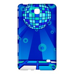 Disco Ball Retina Blue Circle Light Samsung Galaxy Tab 4 (8 ) Hardshell Case