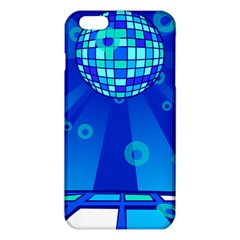 Disco Ball Retina Blue Circle Light Iphone 6 Plus/6s Plus Tpu Case by Alisyart