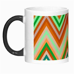 Chevron Wave Color Rainbow Triangle Waves Morph Mugs by Alisyart