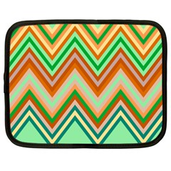 Chevron Wave Color Rainbow Triangle Waves Netbook Case (xxl)  by Alisyart