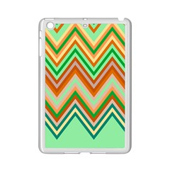 Chevron Wave Color Rainbow Triangle Waves Ipad Mini 2 Enamel Coated Cases