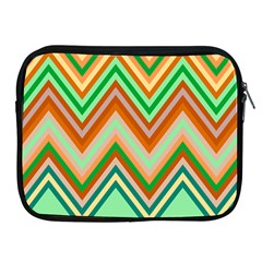 Chevron Wave Color Rainbow Triangle Waves Apple Ipad 2/3/4 Zipper Cases by Alisyart
