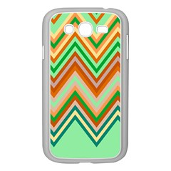 Chevron Wave Color Rainbow Triangle Waves Samsung Galaxy Grand Duos I9082 Case (white) by Alisyart