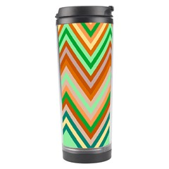 Chevron Wave Color Rainbow Triangle Waves Travel Tumbler