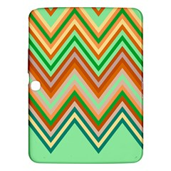 Chevron Wave Color Rainbow Triangle Waves Samsung Galaxy Tab 3 (10 1 ) P5200 Hardshell Case  by Alisyart