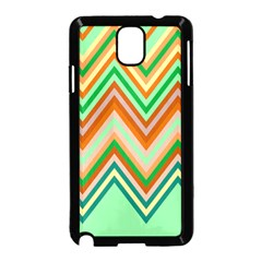 Chevron Wave Color Rainbow Triangle Waves Samsung Galaxy Note 3 Neo Hardshell Case (black)
