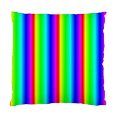 Rainbow Gradient Standard Cushion Case (one Side) by Simbadda