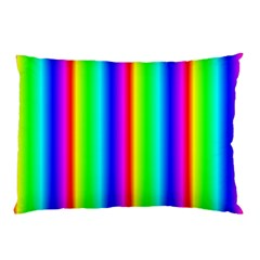 Rainbow Gradient Pillow Case by Simbadda