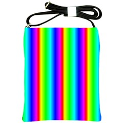 Rainbow Gradient Shoulder Sling Bags by Simbadda