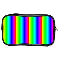 Rainbow Gradient Toiletries Bags by Simbadda