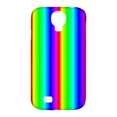 Rainbow Gradient Samsung Galaxy S4 Classic Hardshell Case (pc+silicone) by Simbadda