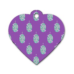 Disco Ball Wallpaper Retina Purple Light Dog Tag Heart (two Sides) by Alisyart