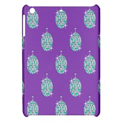 Disco Ball Wallpaper Retina Purple Light Apple Ipad Mini Hardshell Case by Alisyart