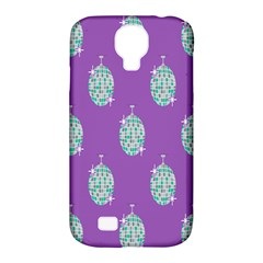 Disco Ball Wallpaper Retina Purple Light Samsung Galaxy S4 Classic Hardshell Case (pc+silicone) by Alisyart