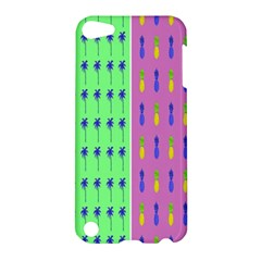 Eye Coconut Palms Lips Pineapple Pink Green Red Yellow Apple Ipod Touch 5 Hardshell Case by Alisyart