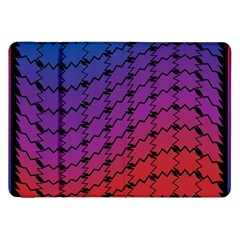 Colorful Red & Blue Gradient Background Samsung Galaxy Tab 8 9  P7300 Flip Case by Simbadda