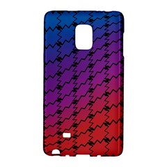 Colorful Red & Blue Gradient Background Galaxy Note Edge by Simbadda
