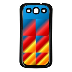 Gradient Map Filter Pack Table Samsung Galaxy S3 Back Case (black) by Simbadda