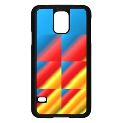 Gradient Map Filter Pack Table Samsung Galaxy S5 Case (black) by Simbadda