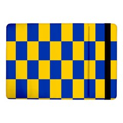Flag Plaid Blue Yellow Samsung Galaxy Tab Pro 10 1  Flip Case by Alisyart