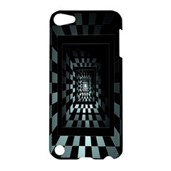 Optical Illusion Square Abstract Geometry Apple Ipod Touch 5 Hardshell Case
