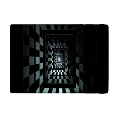 Optical Illusion Square Abstract Geometry Ipad Mini 2 Flip Cases by Simbadda