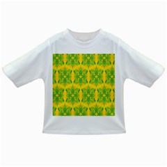 Floral Flower Star Sunflower Green Yellow Infant/toddler T Shirts by Alisyart
