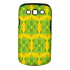Floral Flower Star Sunflower Green Yellow Samsung Galaxy S Iii Classic Hardshell Case (pc+silicone) by Alisyart