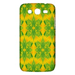 Floral Flower Star Sunflower Green Yellow Samsung Galaxy Mega 5 8 I9152 Hardshell Case  by Alisyart