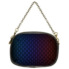 Hexagon Colorful Pattern Gradient Honeycombs Chain Purses (one Side)  by Simbadda