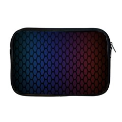 Hexagon Colorful Pattern Gradient Honeycombs Apple Macbook Pro 17  Zipper Case by Simbadda