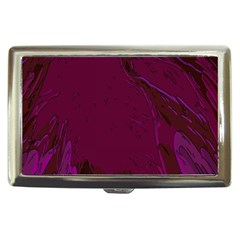 Abstract Purple Pattern Cigarette Money Cases by Simbadda