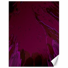 Abstract Purple Pattern Canvas 18  X 24   by Simbadda