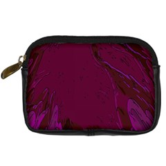Abstract Purple Pattern Digital Camera Cases by Simbadda