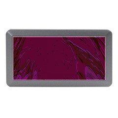 Abstract Purple Pattern Memory Card Reader (mini)